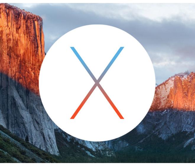 Mac OSX El Capitan USB installer drive