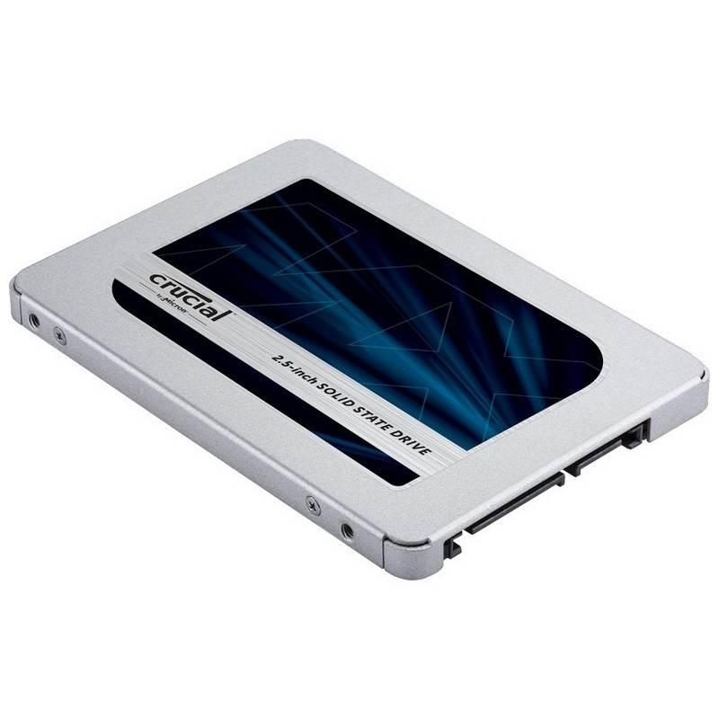 500GB 2.5in (7mm) SATA 6Gb/s Solid-State Drive Crucial MX500 SSD Apple compatible